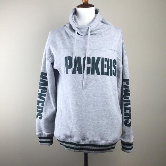 NFL Green Bay Packers Cowl Neck Pullover Sweatshir 15b3359ba